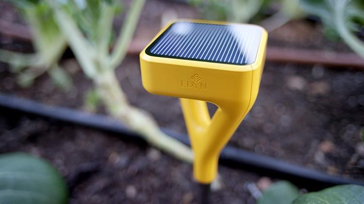 Сенсор оснащён рядом датчиков, которые реагируют на любые отклонения в жизнедеятельности растений