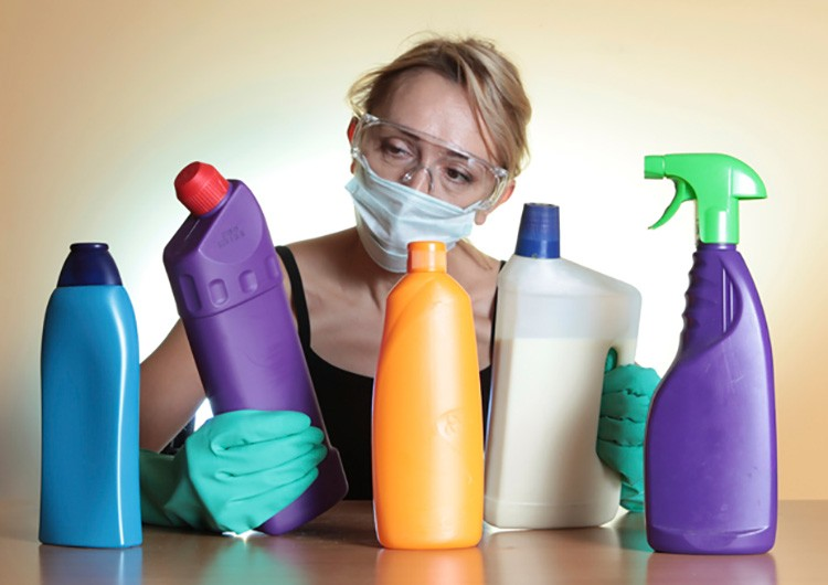 Заменяем химию натуральными продуктами.
