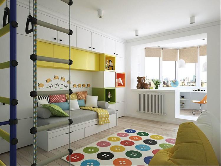Интерьер детской комнаты должен соответствовать возрасту ребёнка