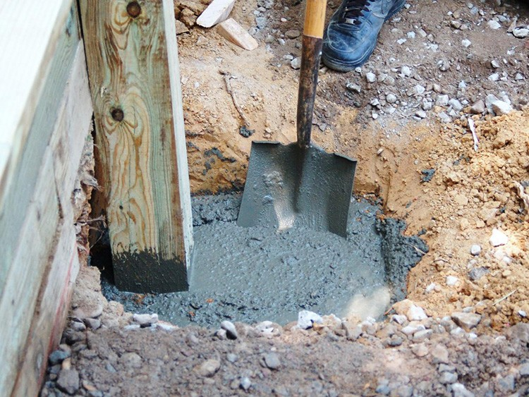 Заливка опор традиционным бетонным раствором уходит в прошлое