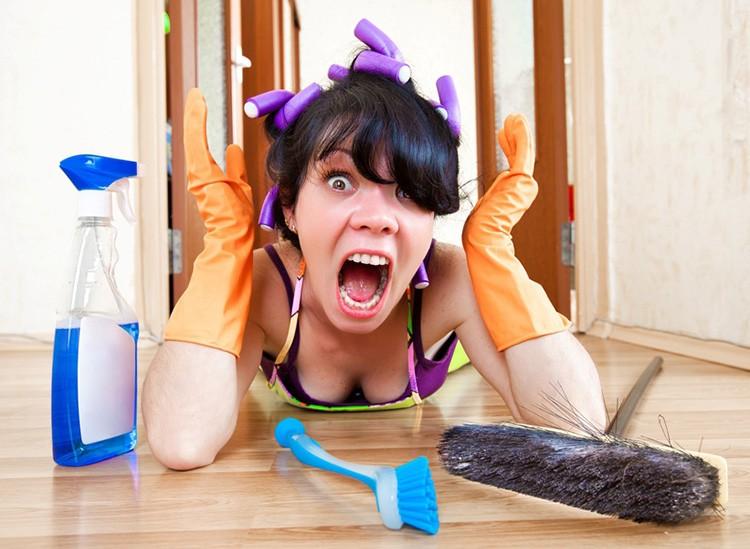 Жизнь не должна превращаться в вечное мытьё полов. Следуйте простым правилам и вам не придётся бесконечно махать тряпкой
