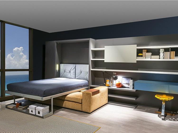 Мебель-трансформер довольно удобна для малогабаритных квартир