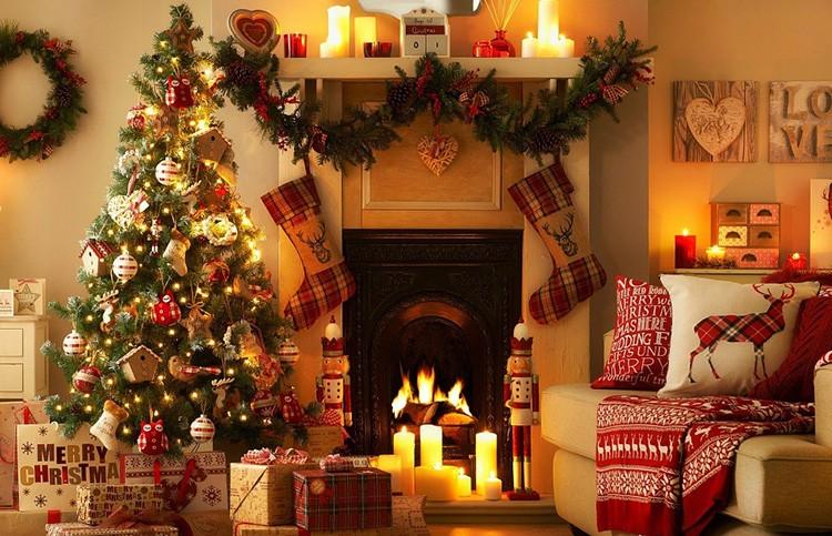 Новогодний интерьер – источник отличного настроения к празднику