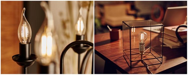 Положительные результаты в тестировании филаментных лампочек получила и компания Philips.