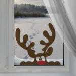 ❄ Трафареты украшений на окна к Новому Году: как просто создать праздничную атмосферу своими руками