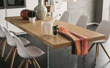 7 необычных обеденных столов: интересные решения для кухонь различного размера