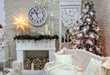 Украшаем дом на Новый год: камин своими руками – оригинальный элемент декора