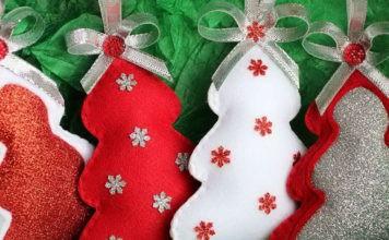 Выкройки для игрушек из фетра: уютный праздничный декор своими руками