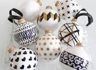 Удивительное новогоднее настроение: делаем оригинальные шары на ёлку своими руками