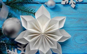 Готовимся к Новому году вместе с детьми: почему стоит изготовить снежинки и звёздочки из бумаги