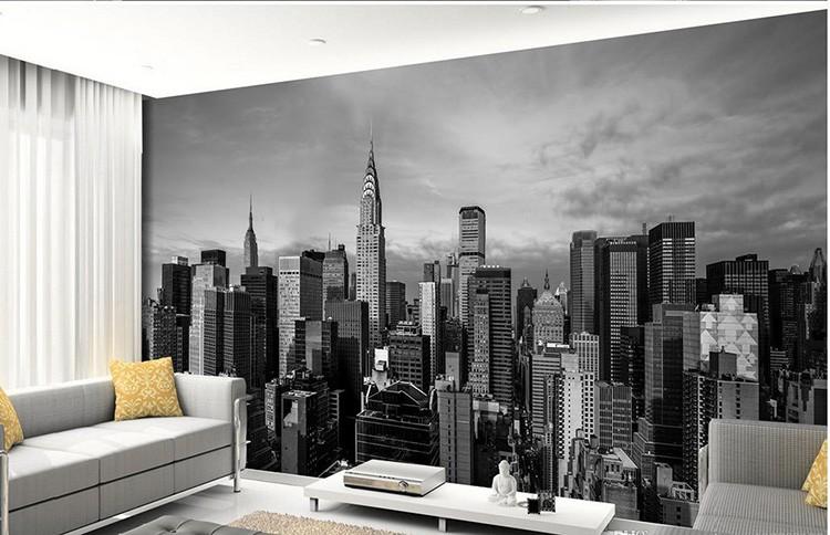В уютных квартирках нашей глубинки поселились фотообои с небоскрёбами и мостами далекой от нас по менталитету страны