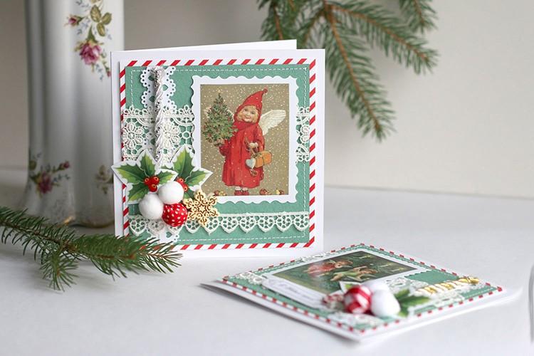 В канун рождественских праздников будут очень мило смотреться темы с ангелочками и звёздами