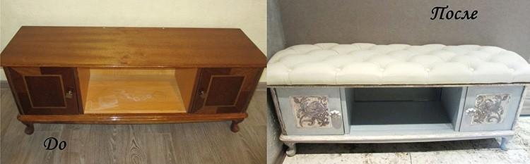 🛋 12 неожиданных вариантов использования старой мебели