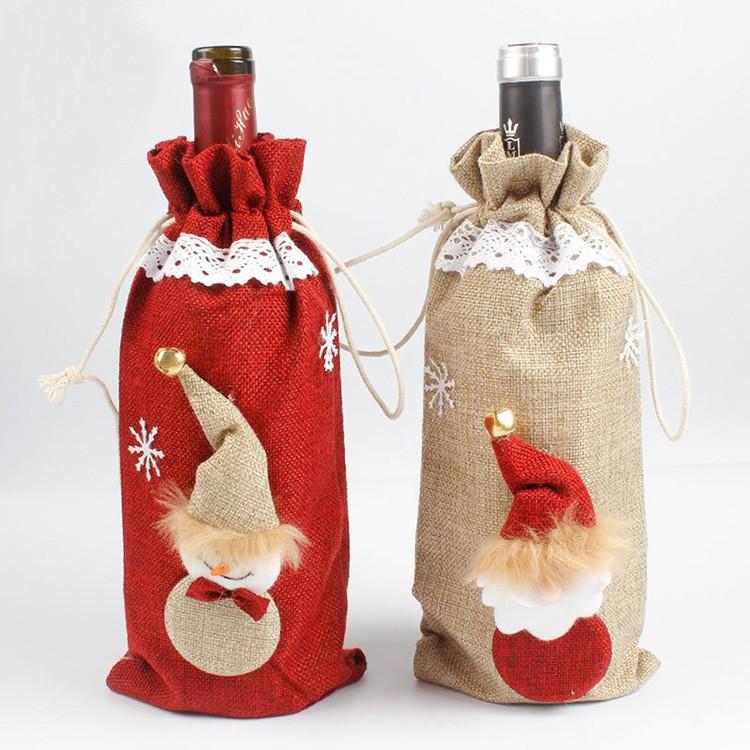 В качестве украшения используем новогоднюю атрибутику