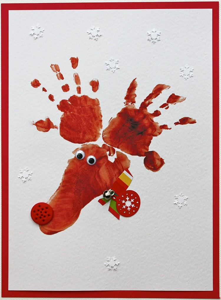 Надписями, открытка пальчиковыми красками дедушке
