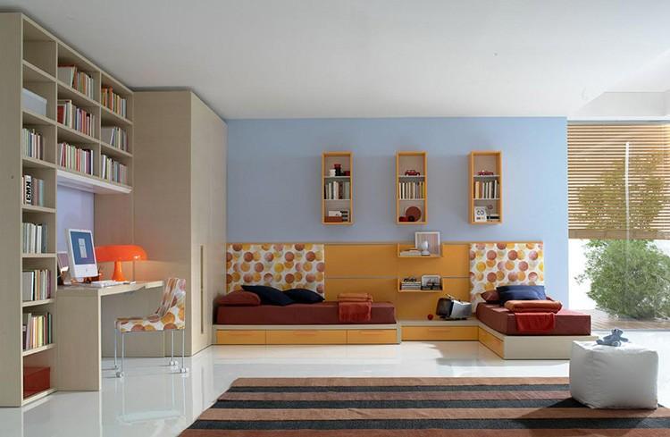 Маленькая детская комната в понимании дизайнеров