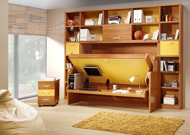 Кровать, трансформируемая в рабочий стол – мечта фрилансера