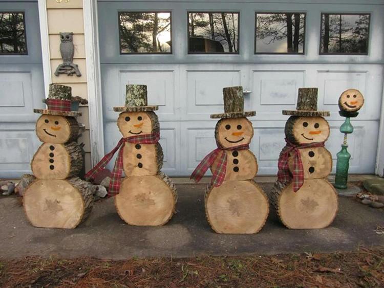 Размер снеговика зависит от вашей фантазии