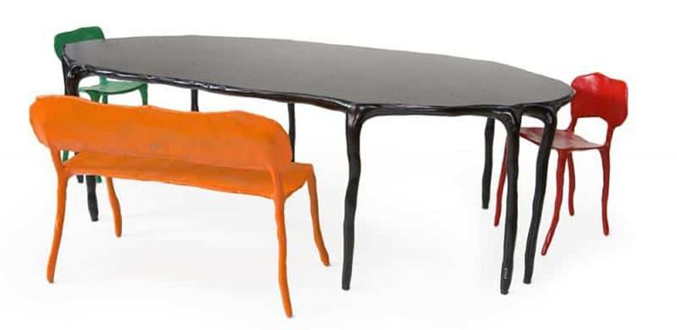 Не стоит стремиться к идеальной ровности. Пусть мебель будет дизайнерская!