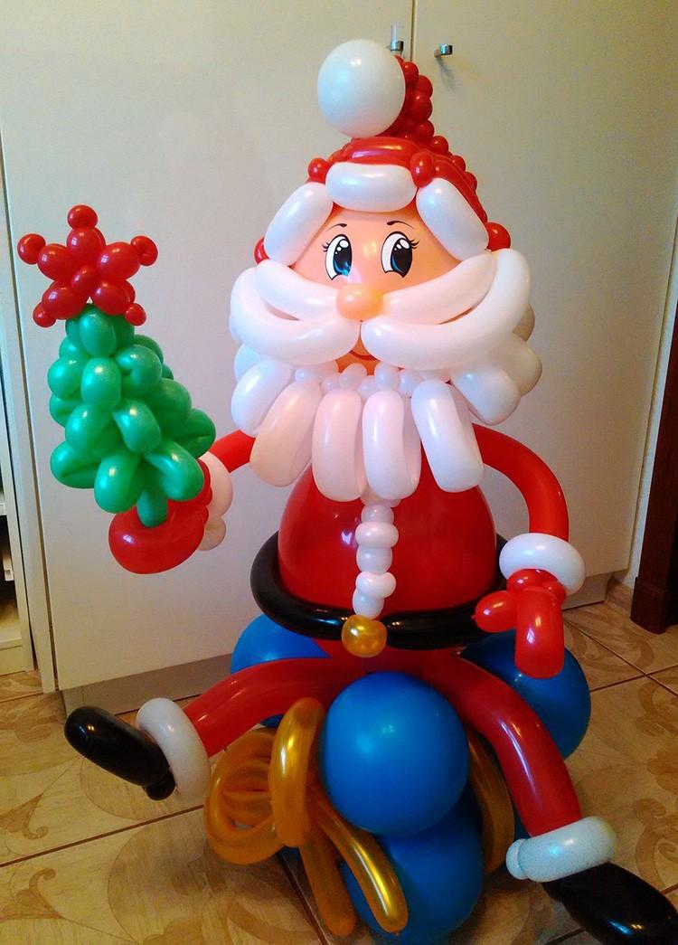 Дед Мороз тоже может быть воздушным