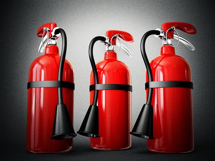 Первичные средства пожаротушения могут защитить от распространения пламени