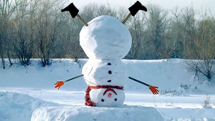 Каким будет ваш снеговик, решать только вам