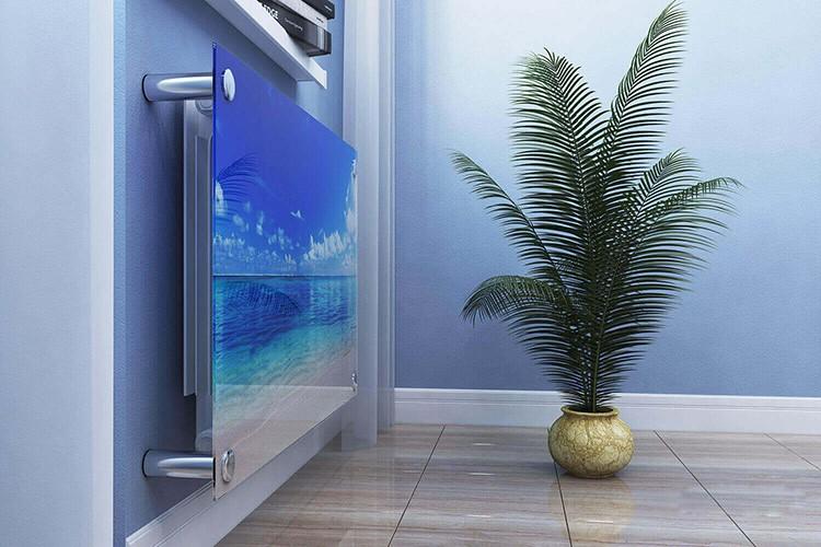 Многослойное стекло используют для экранов отопительных приборов