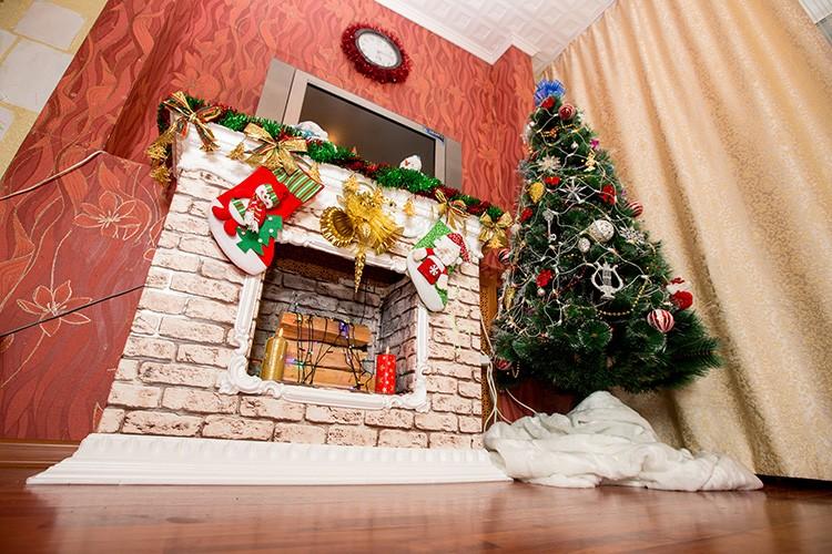 🔥 Украшаем дом на Новый год: сказочный камин своими руками