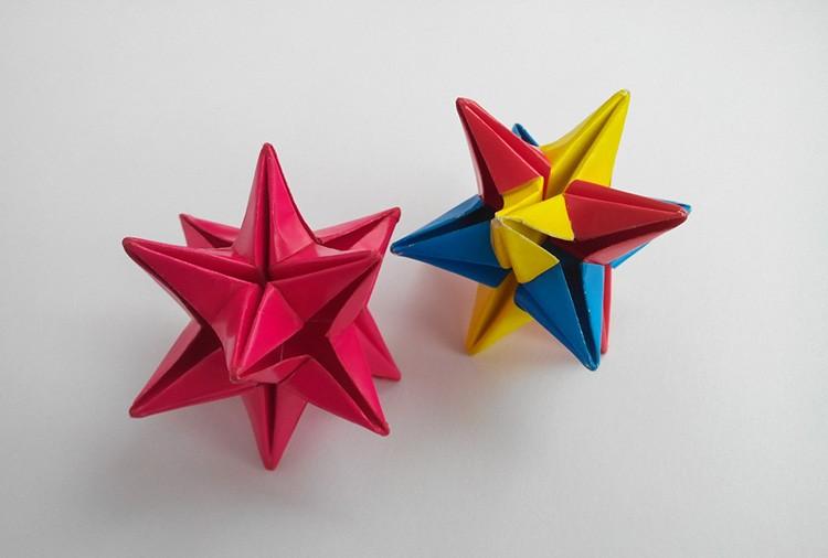 ❄ Украшения, которые не растают: 3D снежинки и звёздочки из бумаги