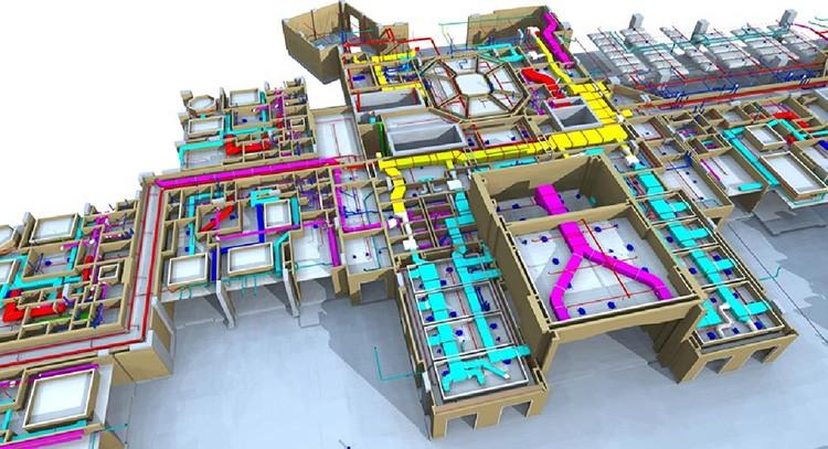 В процессе моделирования можно рассчитать и предусмотреть все узлы коммуникаций, произвести расчёты по смете на строительные материалы и получить наглядную 3d-модель, которая при присоединении временных расчётов по жизненному циклу здания становится четырёхмерной
