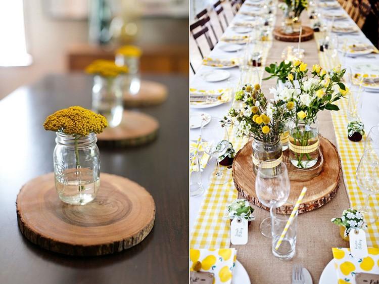 Элегантно смотрятся деревянные подставки под посуду, вместе с тем они прекрасно впишутся во многие стили.