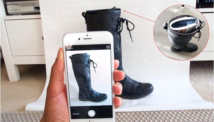 Сделайте как можно больше снимков с разных точек, добавьте фото ярлычков или ценников