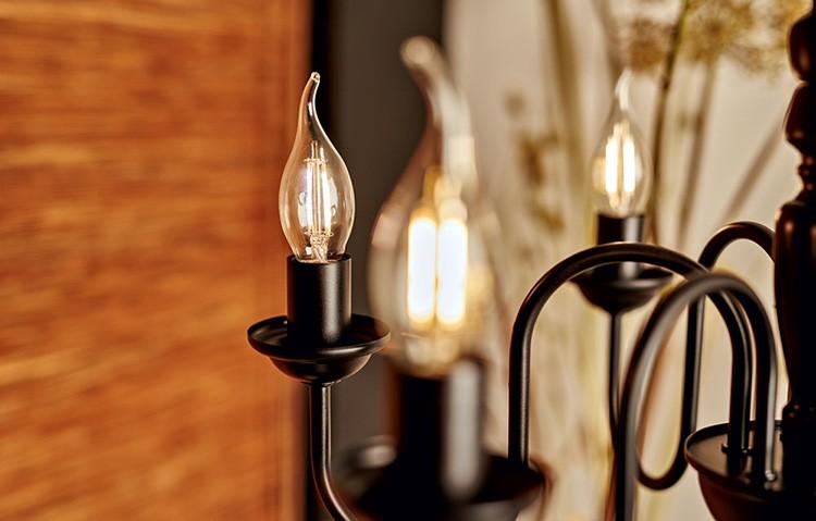 Некачественные лампочки часто сопровождаются максимальной пульсацией: гаснут и снова загораются.