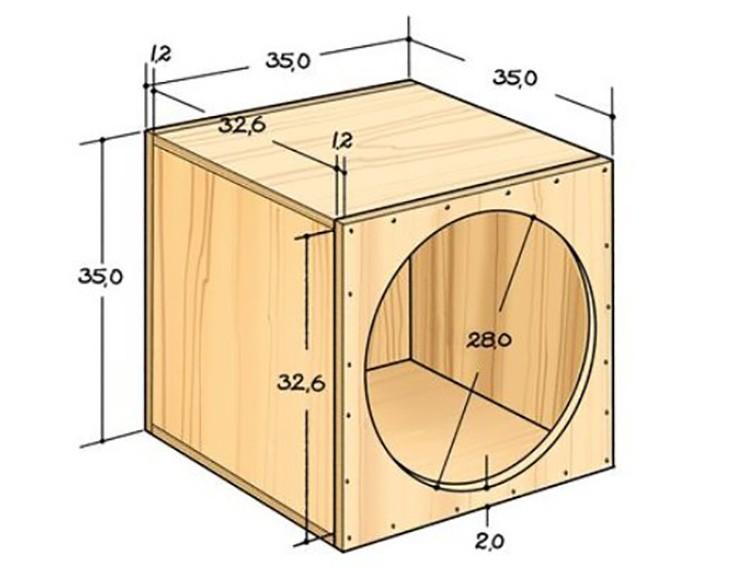 Чтобы сделать такую модель, делают 6 одинаковых деталей. В одной вырезают окружность для лаза.