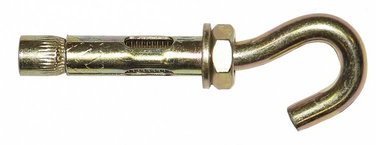 Анкер-крюк удобен для крепления бельевых верёвок