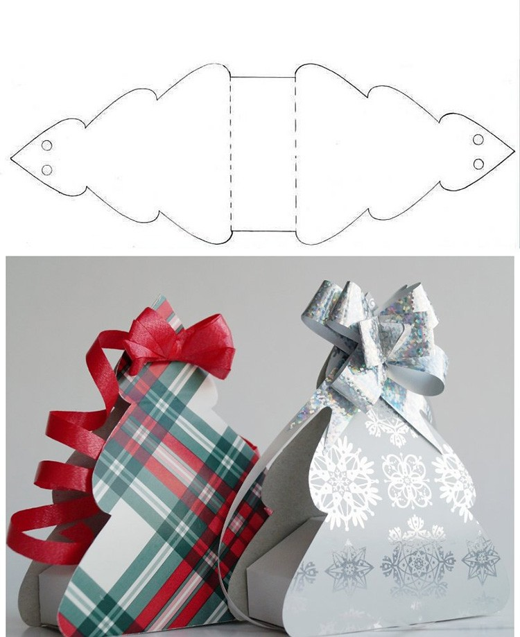 🎁 Оригинальные и необычные коробки для подарков на Новый Год своими руками