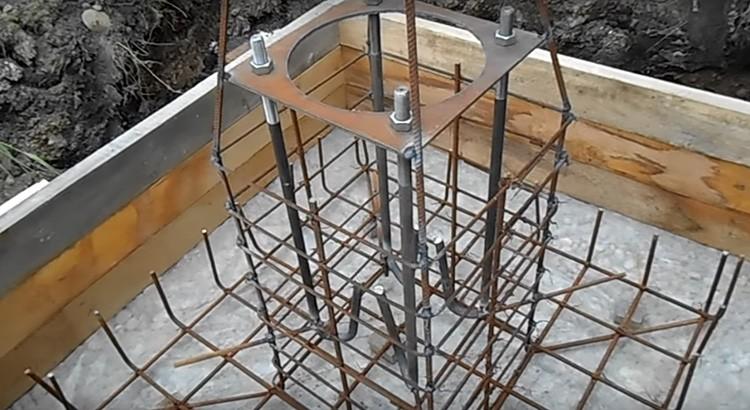 Закладные анкера чаще используются при промышленном строительстве