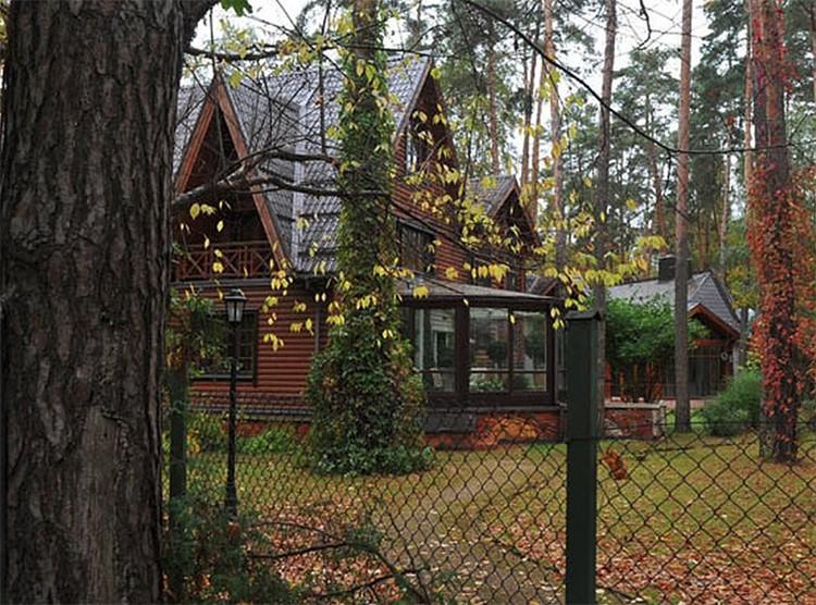 Особняк Андрея Кончаловского расположен сразу за забором