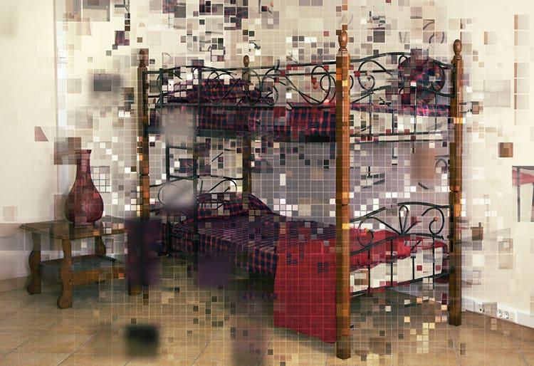 Двухъярусная кровать – настоящая находка для многодетных семей