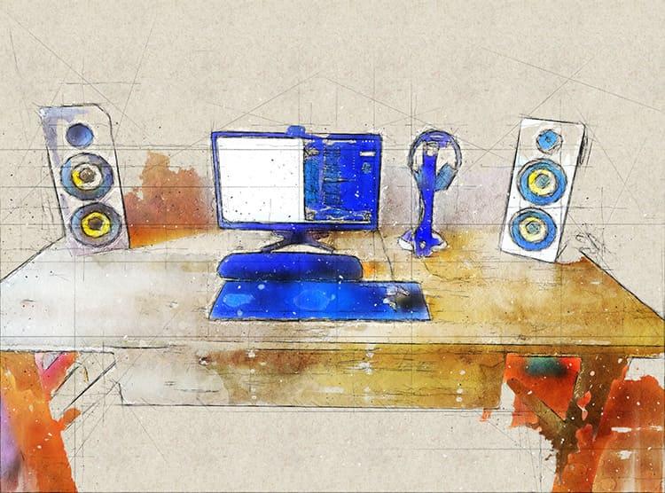 Конструкции современных компьютерных столов поражают своим разнообразием
