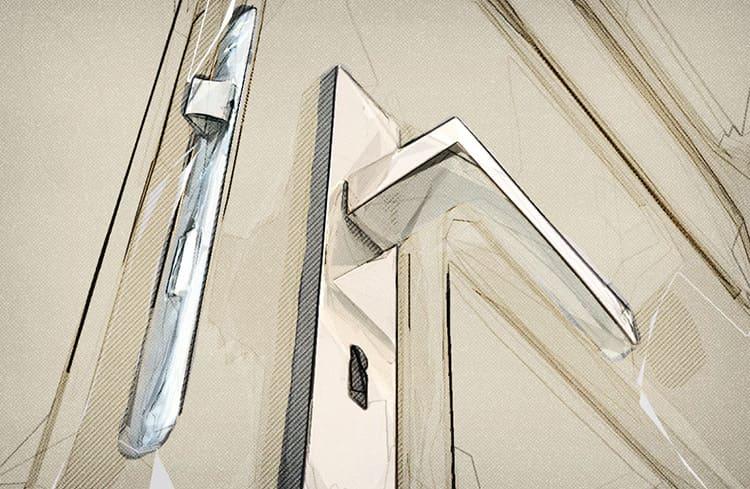 Материал, из которой выполняется ручка используется самый разный – от металла до стекла.