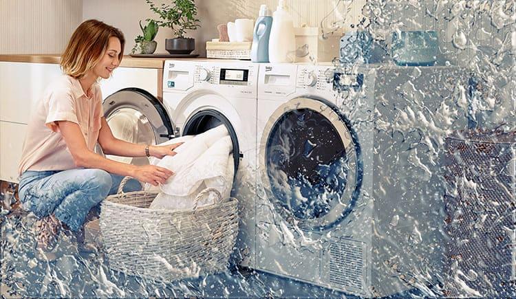 В стиральной машине Beko бельё отстирывается быстро и качественно