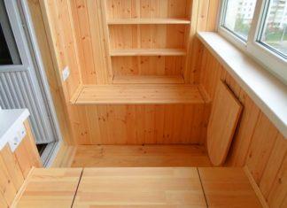 Как обустроить на обычном балконе погреб