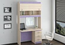 Компьютерный стол с надстройками и шкафчиками: секреты выбора лучшей модели