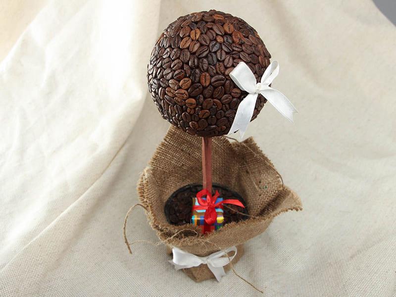 поздравление к подарку кофейное дерево жениха