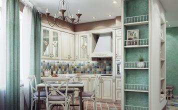 Нежность и простота мебели в стиле прованс