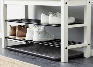 Удобно, практично и эстетично: полка для обуви, лучшие идеи для дома