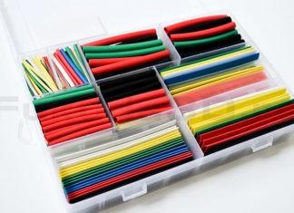 Термоусадка для проводов: разновидности, область применения, критерии выбора, процесс установки