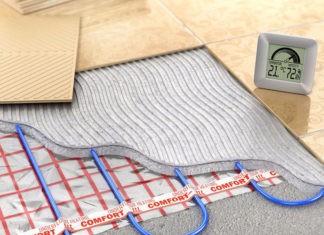 Ноги нужно держатьв тепле, или Как своими руками смонтировать тёплый пол под плитку