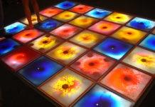 Интерактивный пол: жидкая или живая плитка